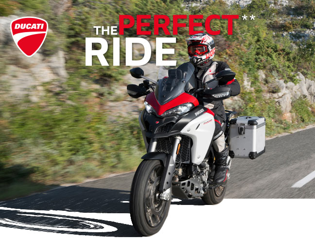 Animation de moto Ducati
